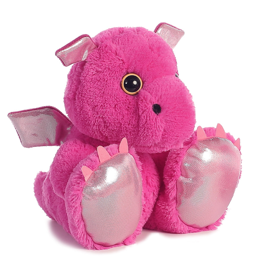 "Pinkster Taddle Toes 8"" Aurora Plush Dragon"