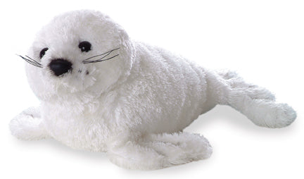 "8"" Mini Flopsie Harp Seal Soft Stuffed Animal Plush"