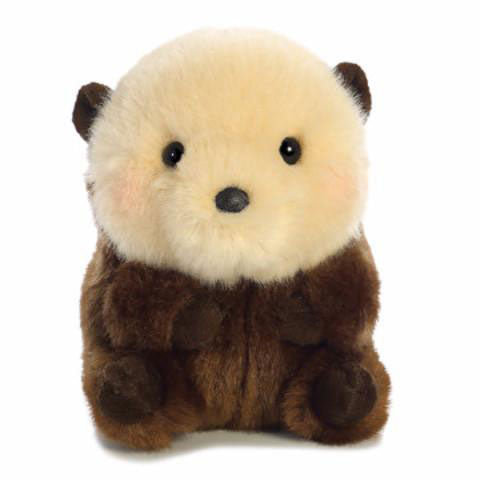 "5"" Aurora World Rolly Pet Plush - Smiles Sea Otter"