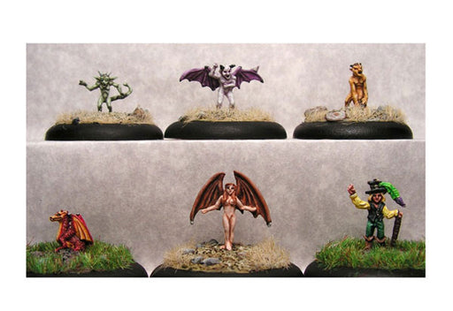 Mystical Familiars 2 Each of 6 Familiars #17-011 Classic Ral Partha Metal Minis
