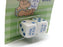Set of 2 D6 We're Having a Baby It's a Boy Dice - White with Blue Pips