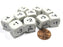 Set of 10 D6 16mm Educational Classroom Multiplication Multiply Basic Math Dice