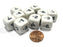 Set of 10 D6 16mm Educational Classroom Subtraction Subtract Basic Math Dice
