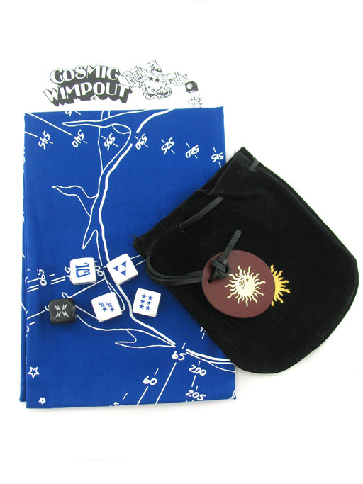 Cosmic Wimpout Deluxe Travel Dice Game - Choose Your Color