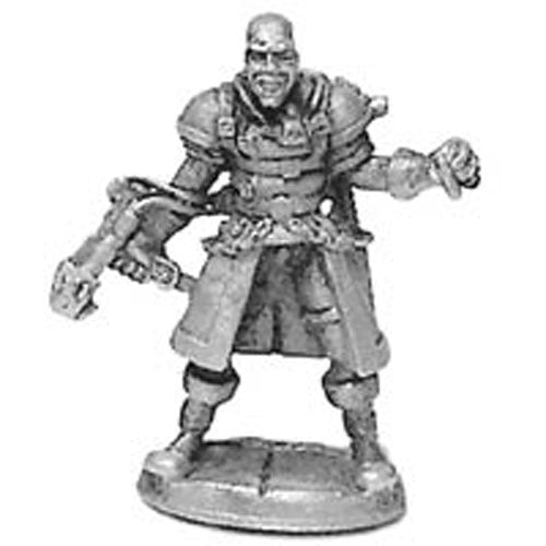 Slash and Burn Halloweener Gang Leader #20-591 Shadowrun Metal Ral Partha Figure
