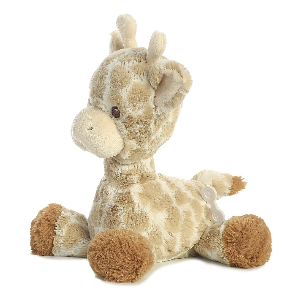 "Aurora World 11.5"" Soft Loppy Giraffe Musical Plush Aurora Plush Stuffed Animal"