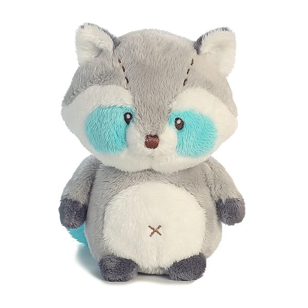"Aurora World 5.5"" Soft Plush - Wildwood Babies Lil Raccoon"
