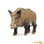 Wild Safari Wildlife Educational Painted Miniature Replica - Boar