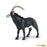 Wild Safari Wildlife Educational Painted Miniature Replica - Sable Antelope