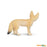 Wild Safari Wildlife Educational Painted Miniature Replica - Fennec Fox