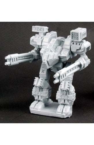 Reaper Miniatures Chancellor #24611 Robot Supply Depot Unpainted RPG D&D Figure