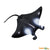 Wild Safari Sea Life Educational Painted Miniature Replica - Manta Ray