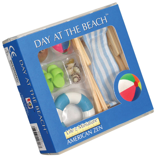 Toysmith Miniature Day At The Beach Imagination Play Set