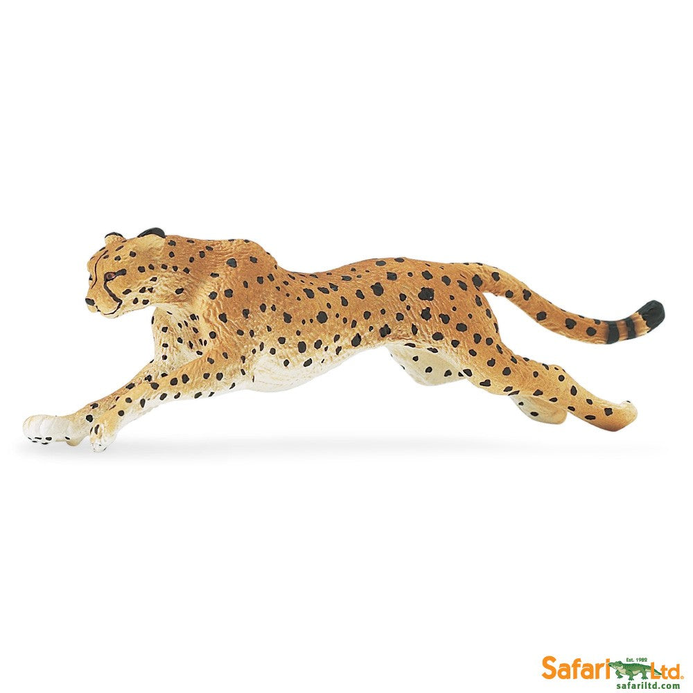 Wild Safari Wildlife Educational Painted Miniature Replica - Cheetah