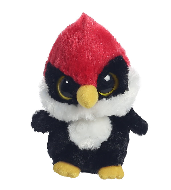 "5"" Woodee YooHoo - Woodpecker Bird Aurora Plush Stuffed Animal"
