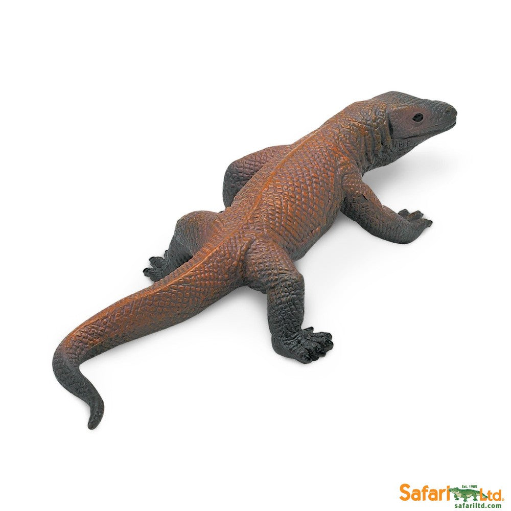 Wild Safari Wildlife Educational Painted Miniature Replica - Komodo Dragon