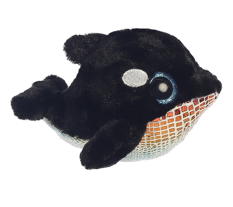 "6"" Blackee YooHoo - Whale Aurora Plush Stuffed Animal"