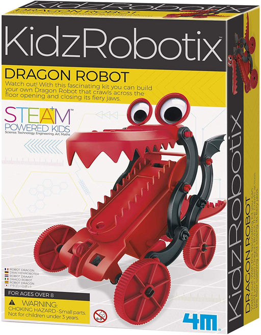 4M Build Your Own Robot Science Kit - Dragon Robot