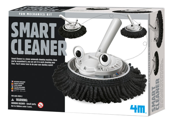4M Build Your Own Robot Science Kit - Smart Cleaner