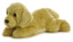 "Goldie Flopsie 12"" Aurora Plush Golden Retriever"