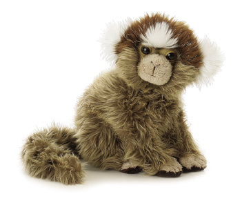 "Marmoset Mini Flopsie 8"" Aurora Plush Monkey"