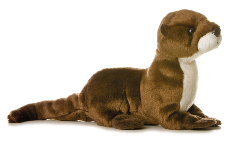 "Sliddy Mini Flopsie 8"" Aurora Plush River Otter"