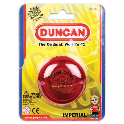 Duncan Imperial Beginner YoYo - Red Yo-Yo