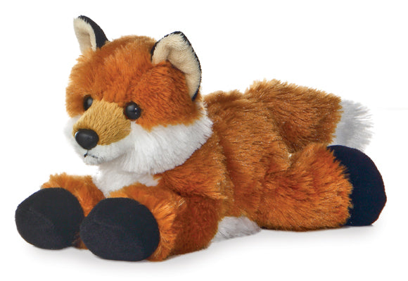 "Foxie Mini Flopsie 8"" Aurora Plush Fox"