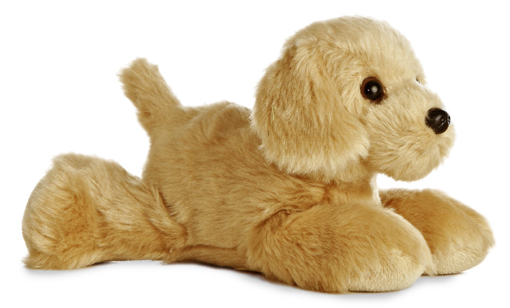 "Golden Mini Flopsie 8"" Aurora Plush Golden Retriever"