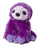 "Sloth - Purple Mini Flopsie 8"" Aurora Plush"