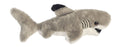 "Black Tipped Shark Mini Flopsie 8"" Aurora Plush"