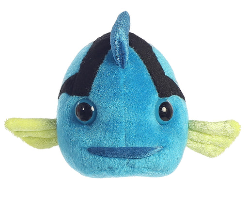 "8"" Mini Flopsie 8"" Blue Tang Fish Mini Flopsie Soft Stuffed Animal Plush"