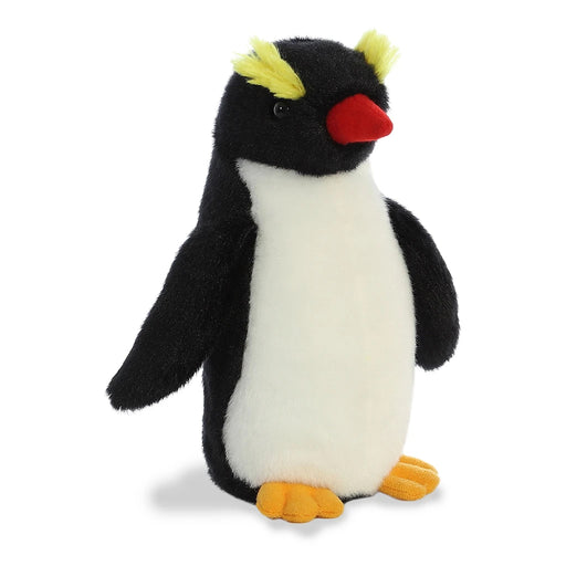 "8"" Aurora World Mini Flopsie Plush - Rah Rah Rockhopper Penguin"