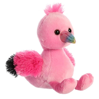 "8"" Aurora World Mini Flopsie Plush - Fairy Flamingo"