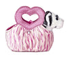 "7"" Jungle Love - White Tiger Fancy Pal Purse Plush Stuffed Animal"