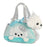 "7"" Peek-A-Boo Princess Puppy Pet Carrier Aurora Plush Stuffed Animal Dog"