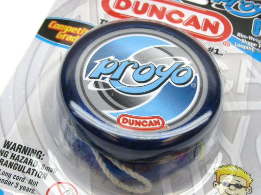Duncan Proyo Beginner Rim-Weighted Competition Grade Yoyo - Transparent Blue