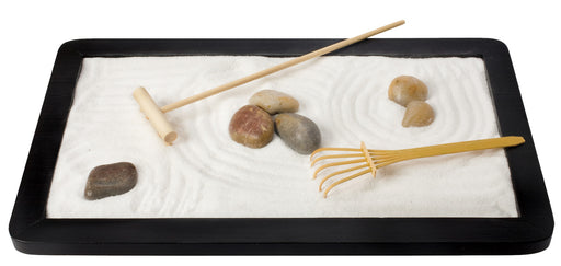 "Toysmith 11.5""x7"" Zen Garden for Rest Relaxation and Meditation"