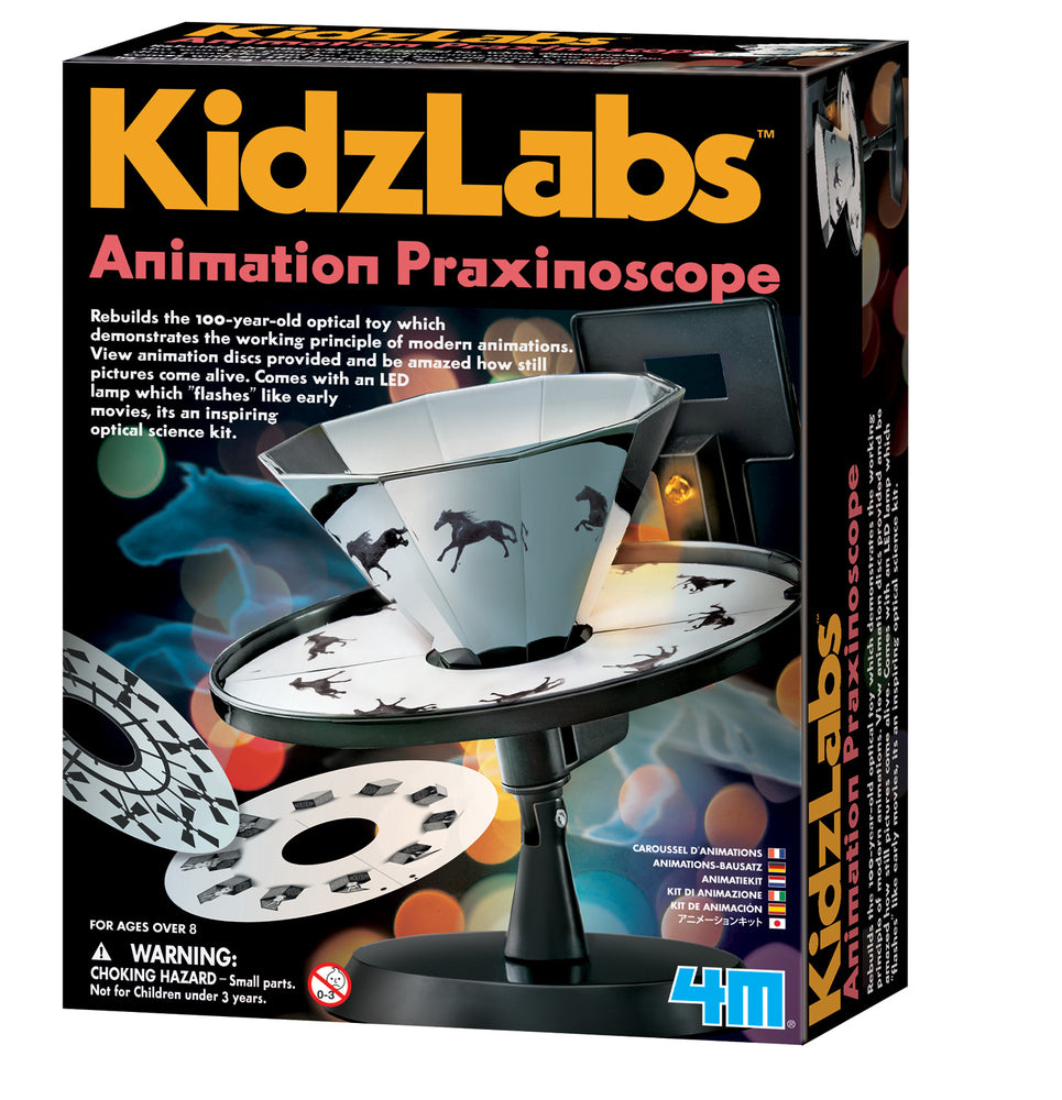4M KidzLabs - Animation Praxinoscope Optical Toy