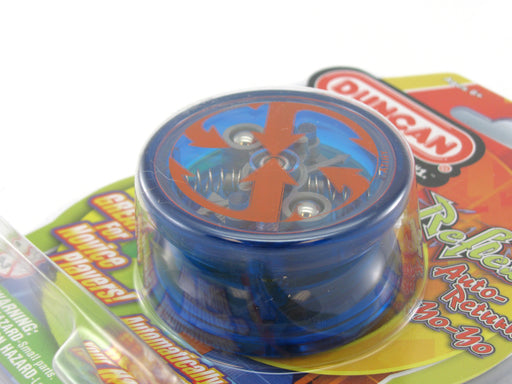 Duncan Reflex Auto Return Automatic Beginner Yo-Yo - Transparent Blue