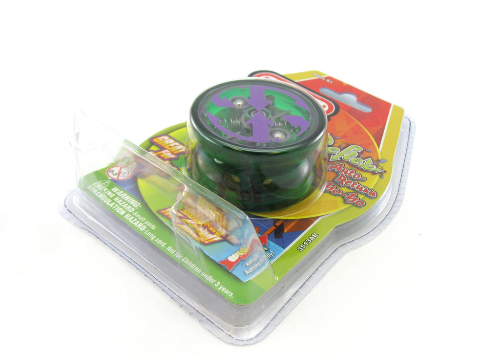 Duncan Reflex Auto Return Automatic Beginner Yo-Yo - Transparent Green
