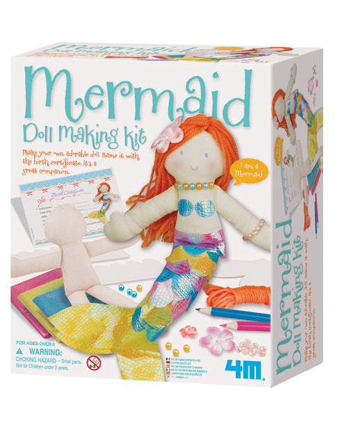 4M Mermaid Doll Making Arts and Crafts Kit