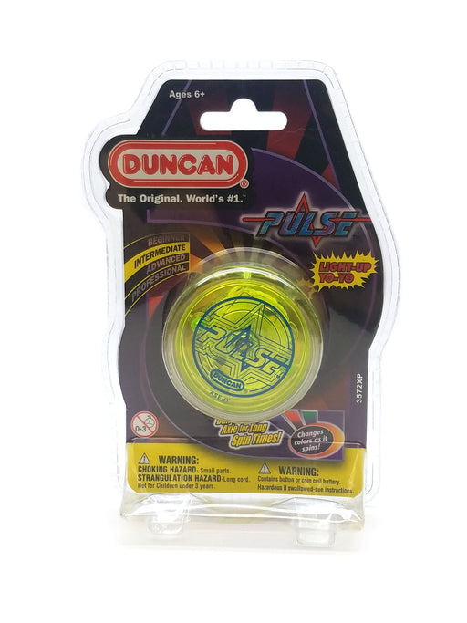 Duncan Pulse Light-Up Yo-Yo Intermediate - Yellow