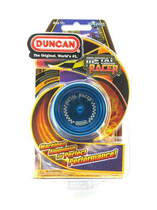 Duncan Metal Racer - Solid Blue Advanced Yo-Yo