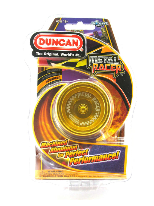 Duncan Metal Racer - Solid Yellow Advanced Yo-Yo