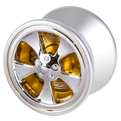 Duncan Metal Racer - Silver and Yellow Advanced Yo-Yo