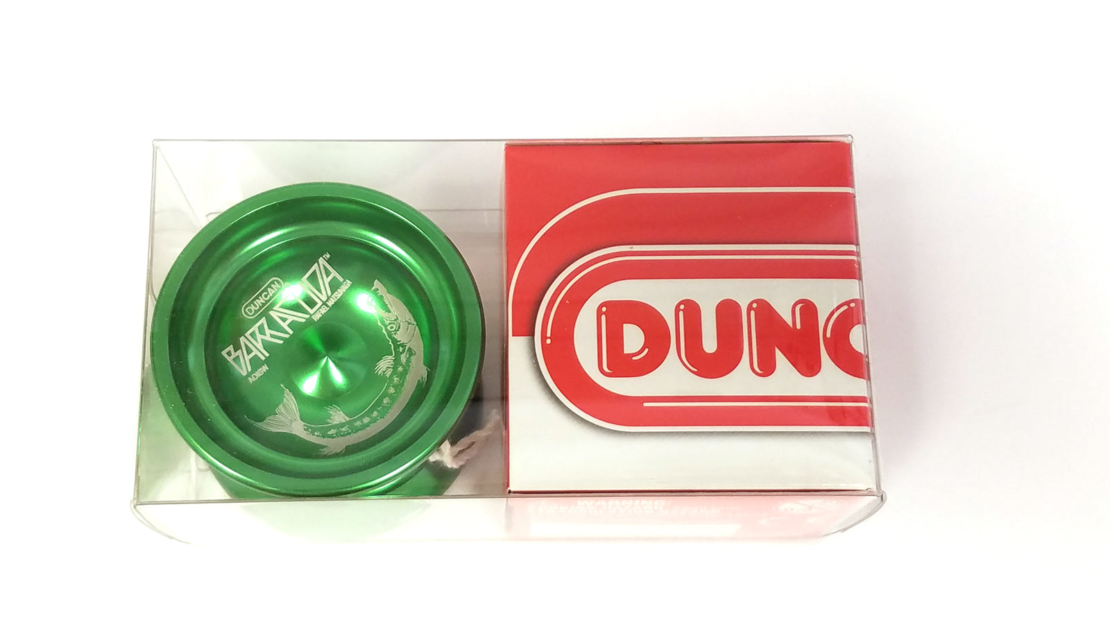 Duncan Barracuda Experienced Professional Unresponsive YoYo - Green