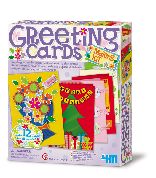 4M Make Your Own Greeting Cards Activity Kit