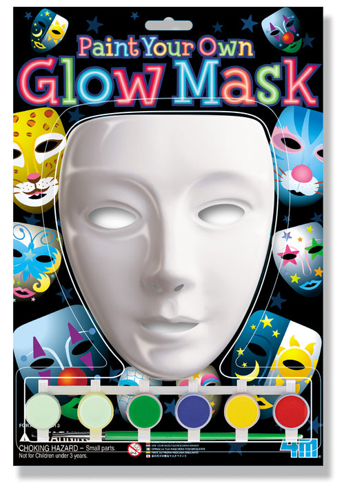 4M Paint Your Own Glow In the Dark Mask Kit
