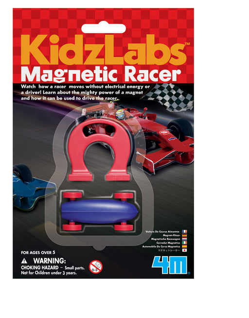 4M KidzLabs - Tiny Magnetic Racer (Colors Vary)